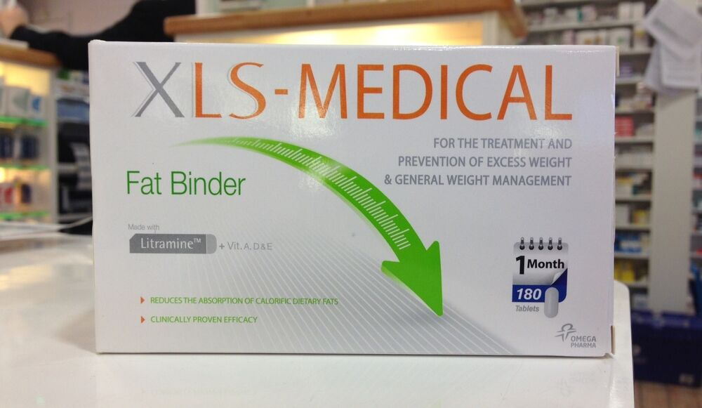 1080 XLS Medical Fat Binder Tablets NEW WEIGHT LOSS