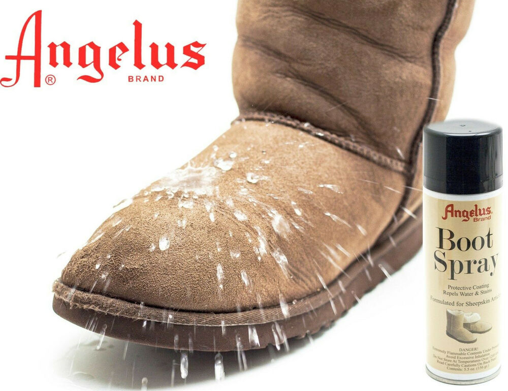 sheepskin suede boot spray water proof stain