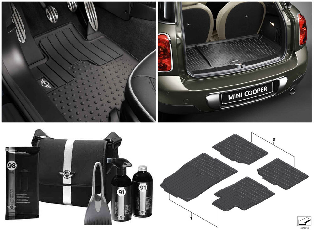 Mini Genuine R60 Winter Pack All Weather Floor And Luggage