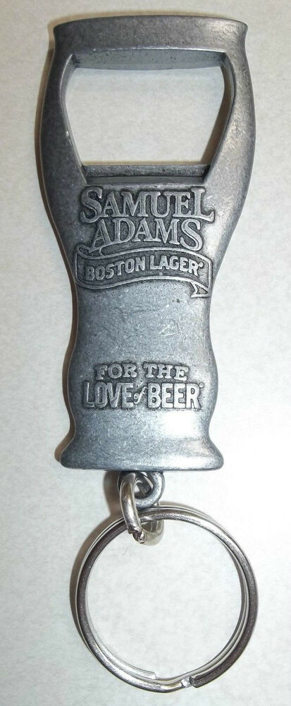 samuel adams key chain beer bottle opener boston lager. Black Bedroom Furniture Sets. Home Design Ideas