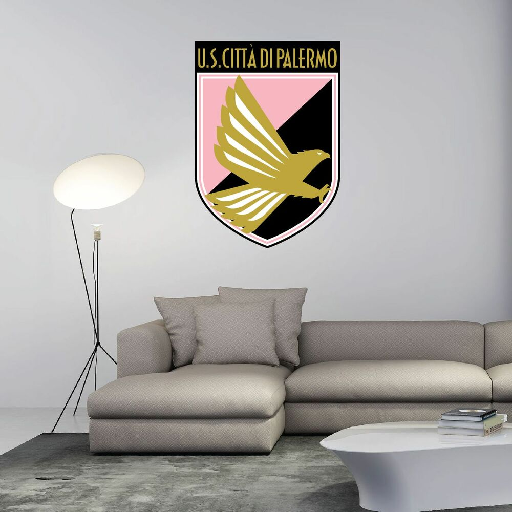 Us Palermo Italy Football Soccer Wall Decor Sticker Decal