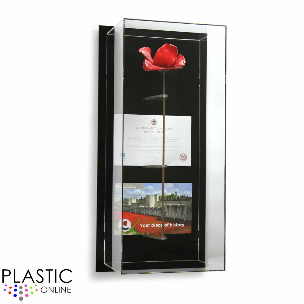 Tower Of London Poppy Display Case Model S Wall Mounted Ebay