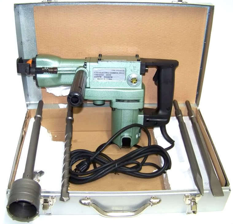 1 1 2 Quot Electric Rotary Demolition Hammer Drill 2 In 1 With