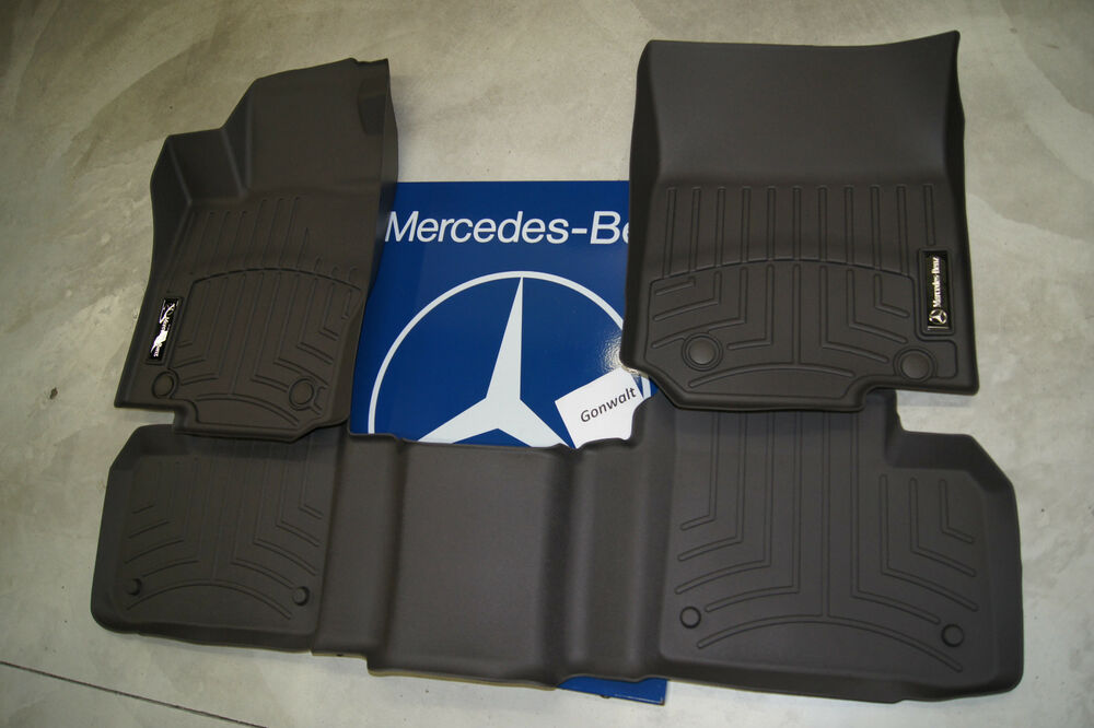 mercedes benz all weather floor trays liners carpet ml