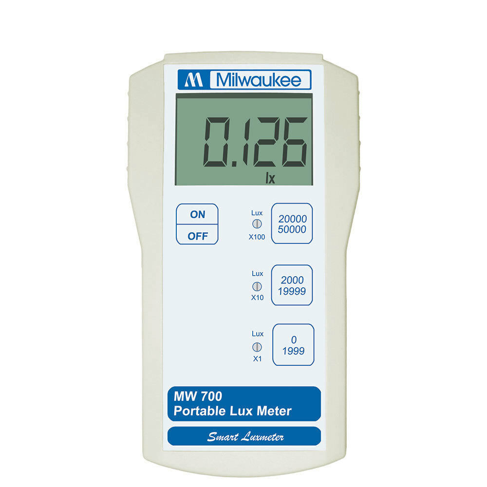 Light Measuring Instruments : Milwaukee instruments lux light measurement portable meter