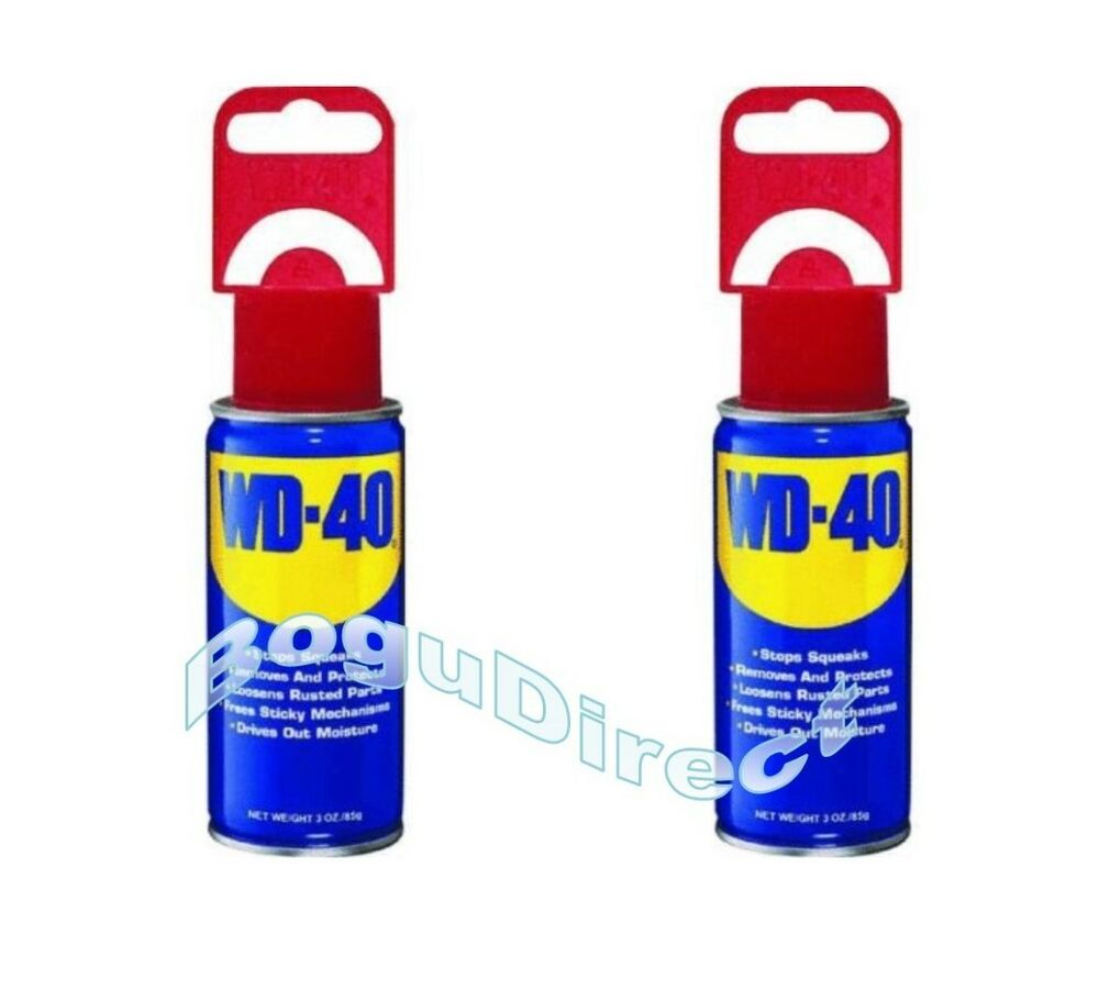 2 cans wd 40 spray lubricant aerosol can 3 oz multi use new ebay - New uses for the multifunctional spray ...