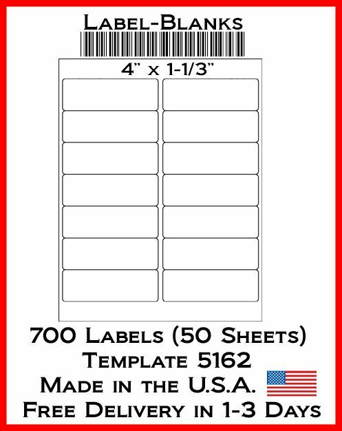 700 laser ink jet labels 4 x 1 1 3 14 address. Black Bedroom Furniture Sets. Home Design Ideas