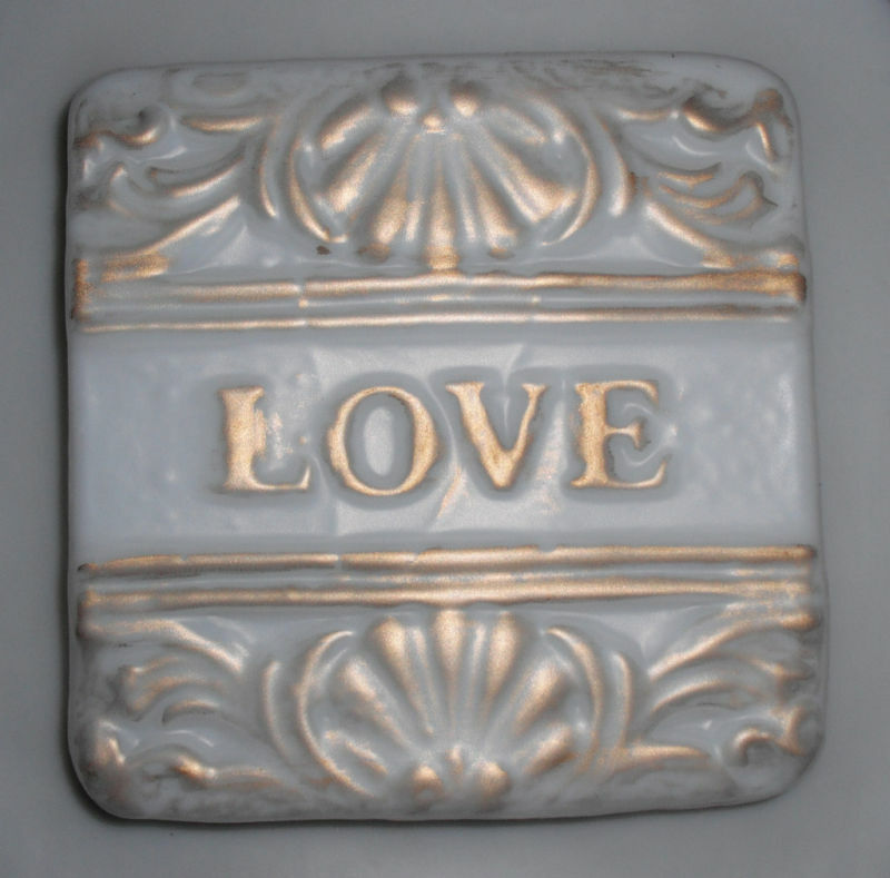 plastic love plaque mold plaster concrete mould ebay. Black Bedroom Furniture Sets. Home Design Ideas