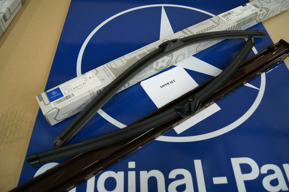Mercedes benz e350 e63 amg w212 wiper blade genuine oem for Mercedes benz c300 wiper blades