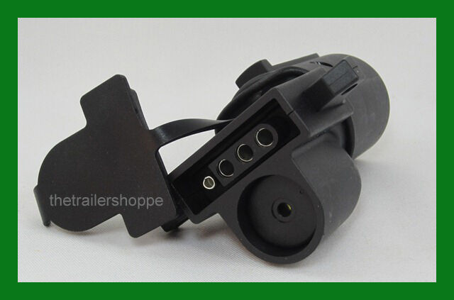 trailer light adaptor 7 rv to 4 pin audible alarms curt mfg 57724. Black Bedroom Furniture Sets. Home Design Ideas