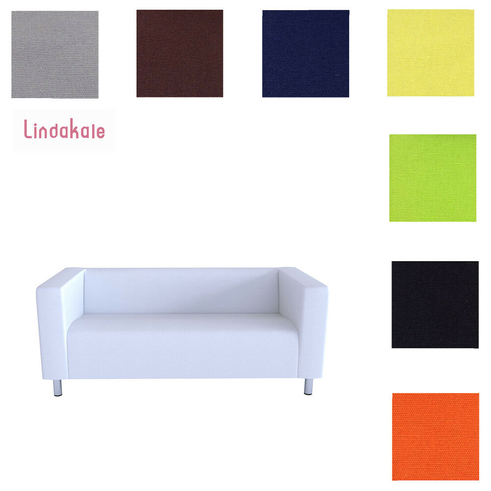 Customize Sofa Cover, Replacement Slipcover, Fits IKEA 2 Seat or 4 Seat KLIPPAN  eBay