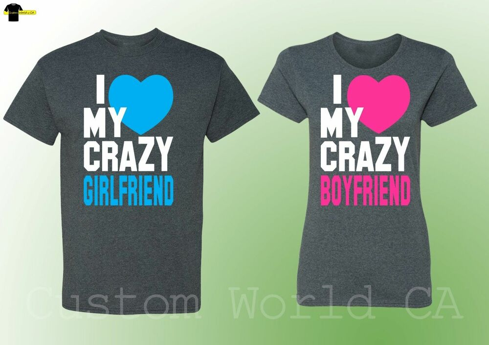 relationship shirts for couples his and hers