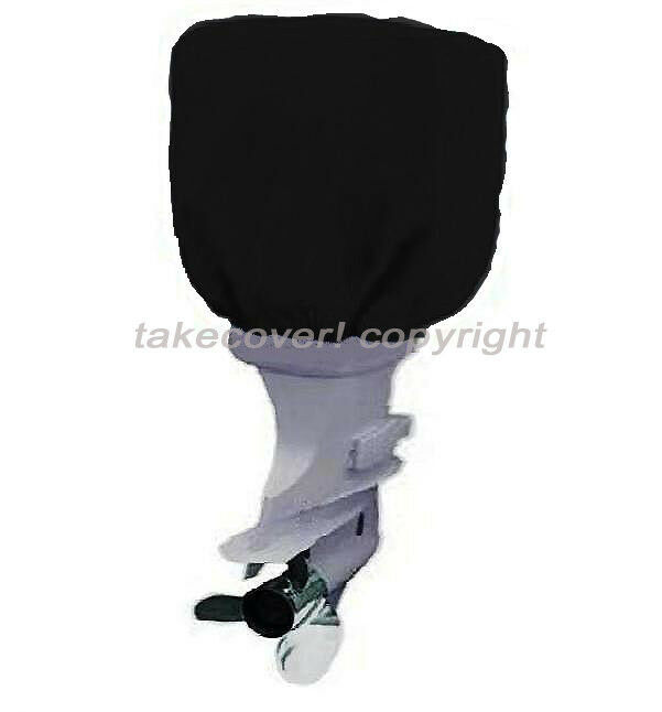 Boat Motor Covers >> 115 to 225 HP Boat Outboard Motor Engine Cover Black Universal Trailerable B25 | eBay