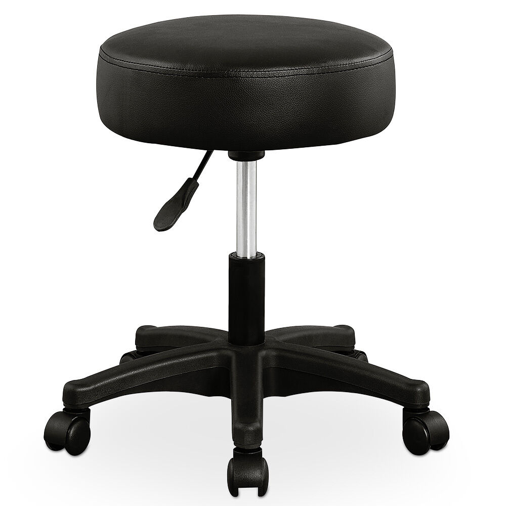 Swivel Chair Stool 5 Casters Cosmetic Work Stool Rollable