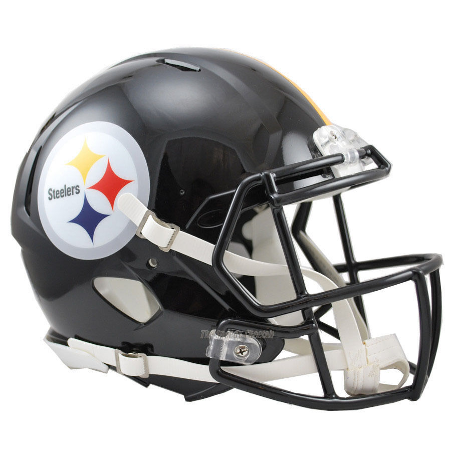 pittsburgh steelers riddell nfl full size authentic speed steeler logo change steelers logo png
