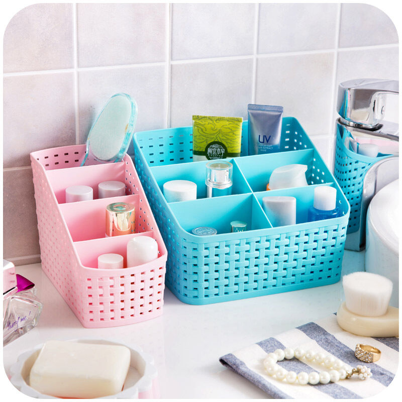 Cute desk organizer jewelry storage box makeup cosmetic - Cute desk organizer ...