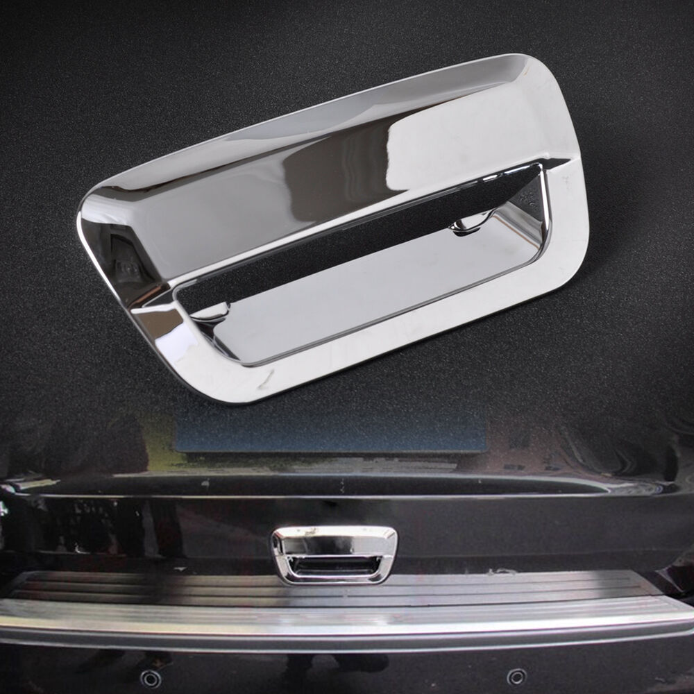 Chrome Rear Door Tailgate Handle Cover Trim For Jeep Grand