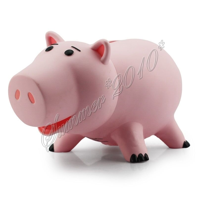 Kids toy story ham pig 12 cm 4 7 figure pink coin bank piggy money saving box 228872198421 ebay - Cochon de toy story ...