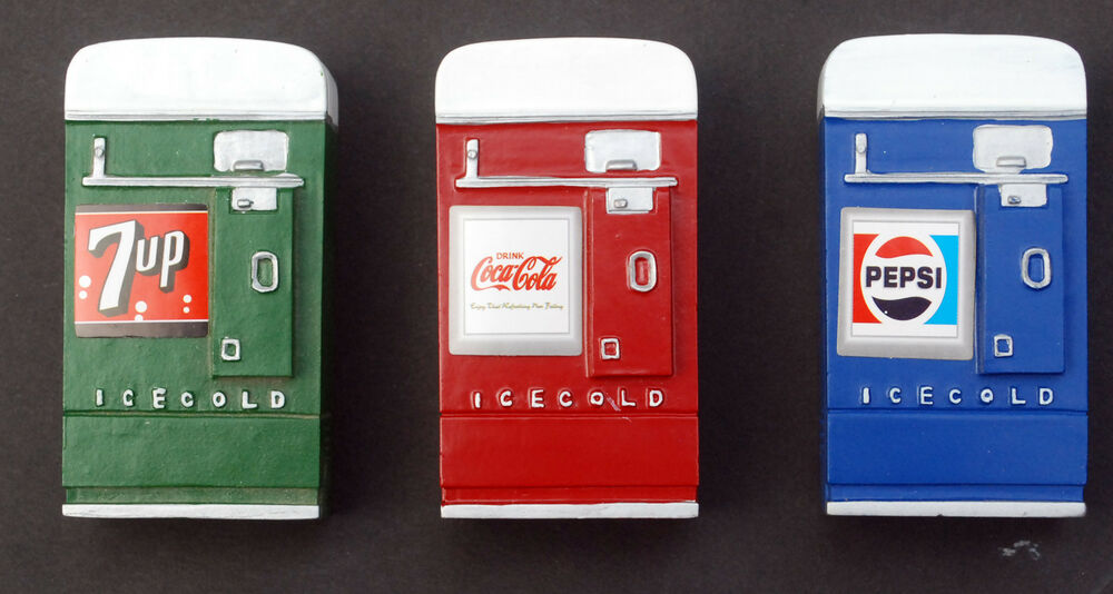 23989 american d getr nkeautomat vending machine pepsi cola 7 up coca cola 1 24 ebay. Black Bedroom Furniture Sets. Home Design Ideas