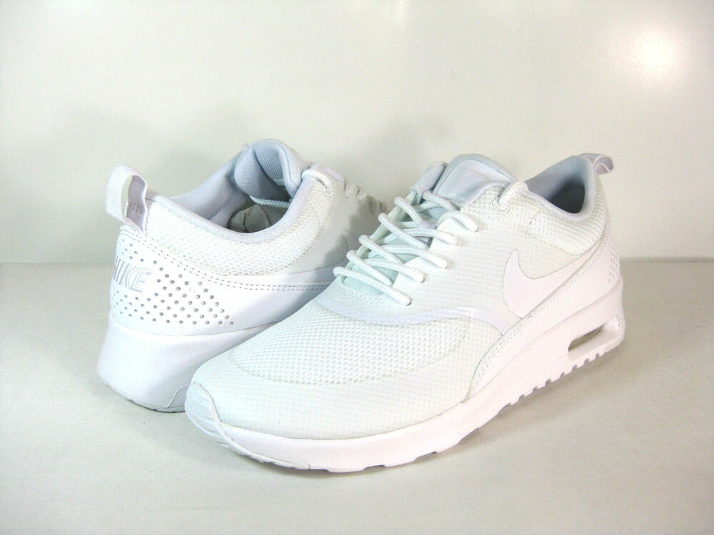 nike wmns air max thea white white 599409 101 athletic. Black Bedroom Furniture Sets. Home Design Ideas