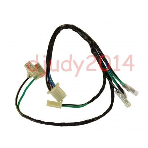 dirt pit bike kick start engine wire wiring harness loom70