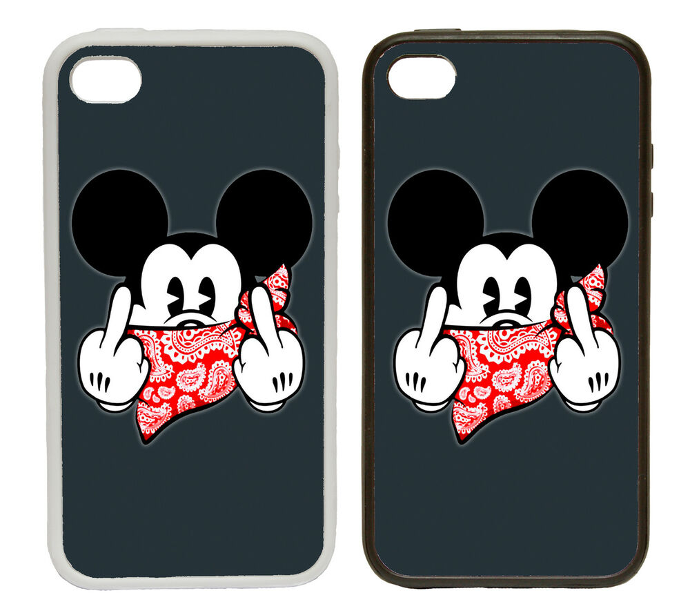 Case Design flower phone cases : ... Mouse Rude and Funny Rubber and Plastic Phone Cover Case 1 : eBay