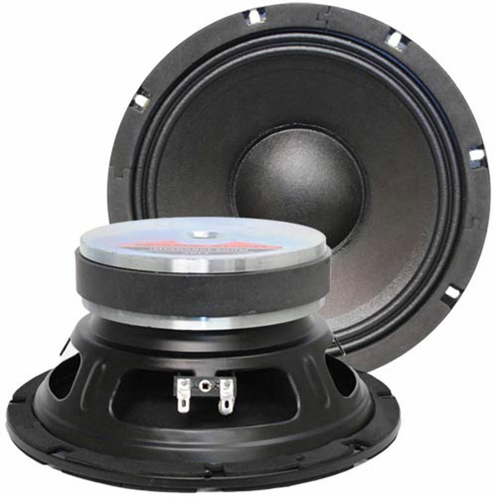 seismic audio pair of 8 bass guitar raw woofers speaker driver replacements ebay. Black Bedroom Furniture Sets. Home Design Ideas