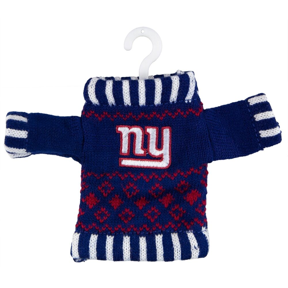 Knitting Stores Nyc : New york giants knit sweater ornament ebay