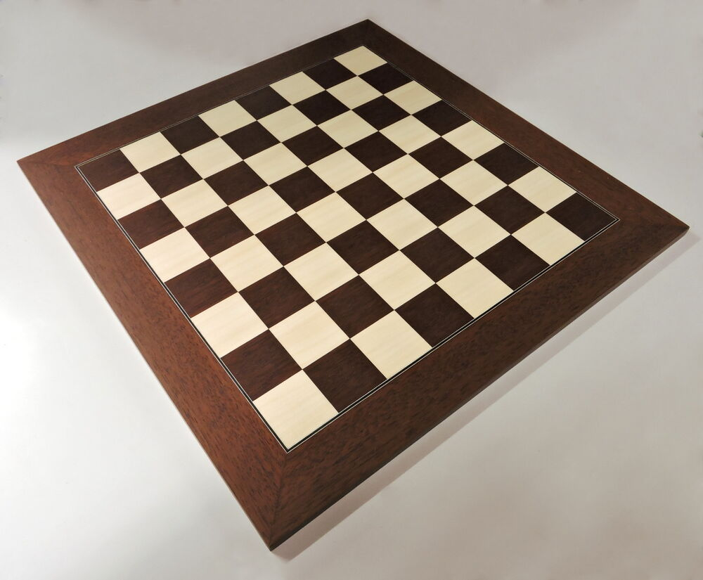 Montgoy Palisander And Maple Chess Board Made In Spain Ebay