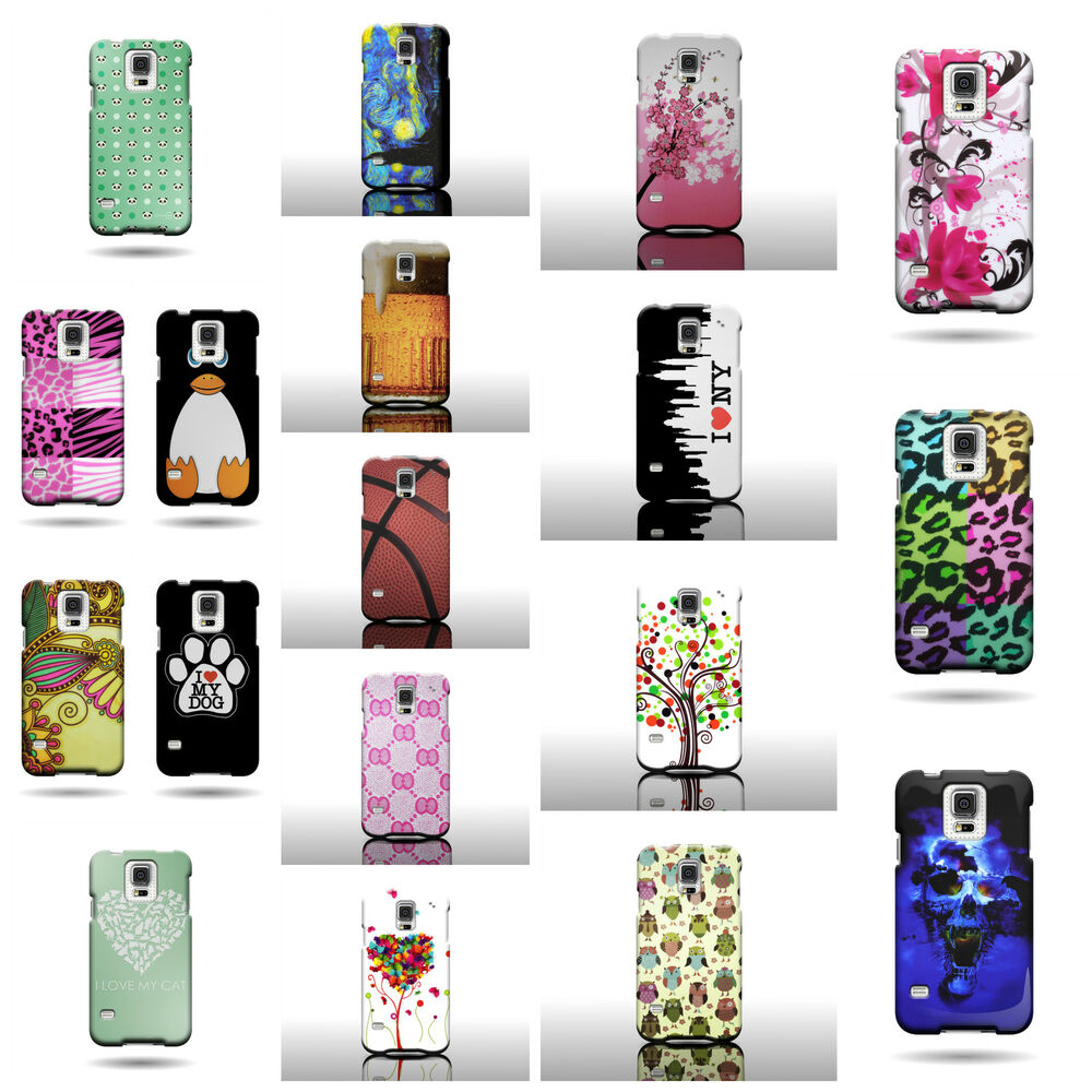 Case Design cell phone otterbox case : ... Design Cover For Samsung Galaxy S5 Hard Rubber Shell Case : eBay