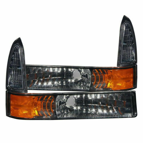 Anzo USA 511034 Chevrolet Smoke Parking Light Assembly Sold in Pairs
