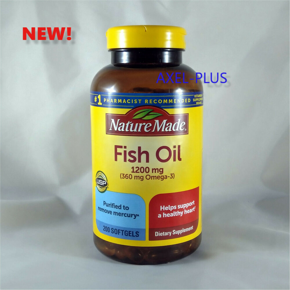 Nature made fish oil 1200 mg 360 mg omega 3 200 liquid for How is fish oil made