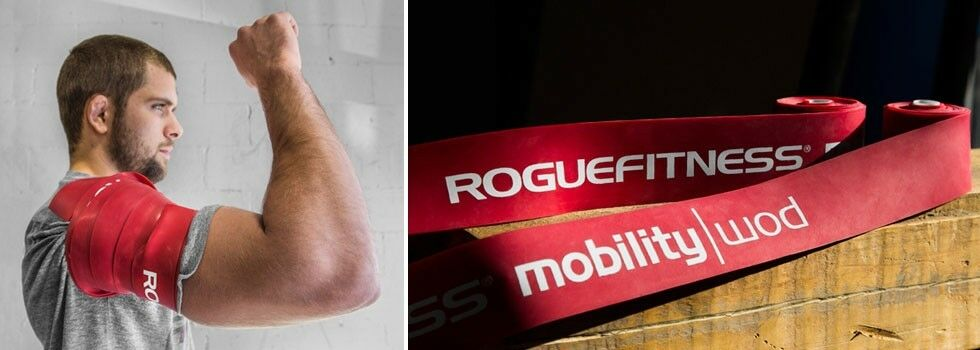 Rogue fitness voodoo floss band long new red