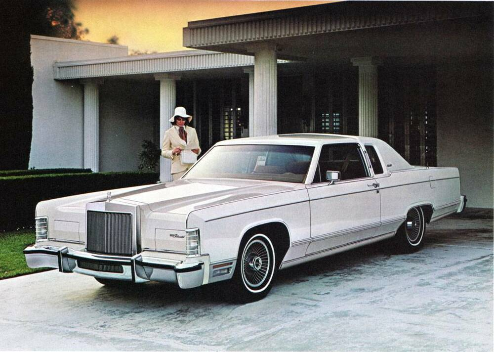 old print white 1978 lincoln continental town coupe auto advertisement ebay. Black Bedroom Furniture Sets. Home Design Ideas