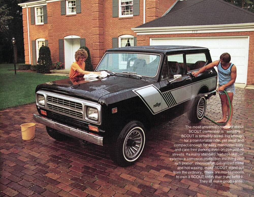 old print 1980 international scout ii auto advertisement ebay. Black Bedroom Furniture Sets. Home Design Ideas