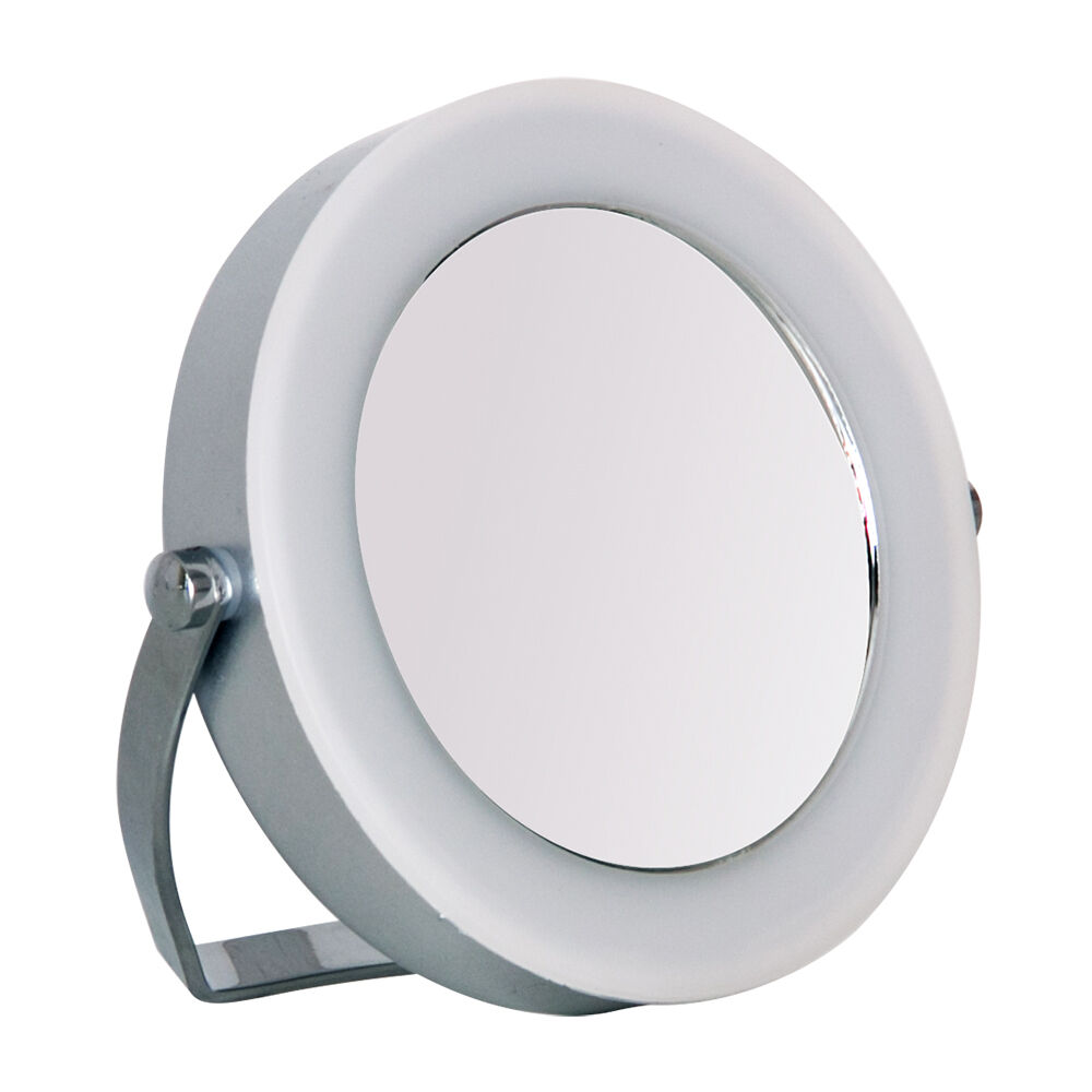 Led Battery Vanity Lights : Compact Portable Battery Powered Cool White LED Light Vanity Cosmetic Mirror eBay