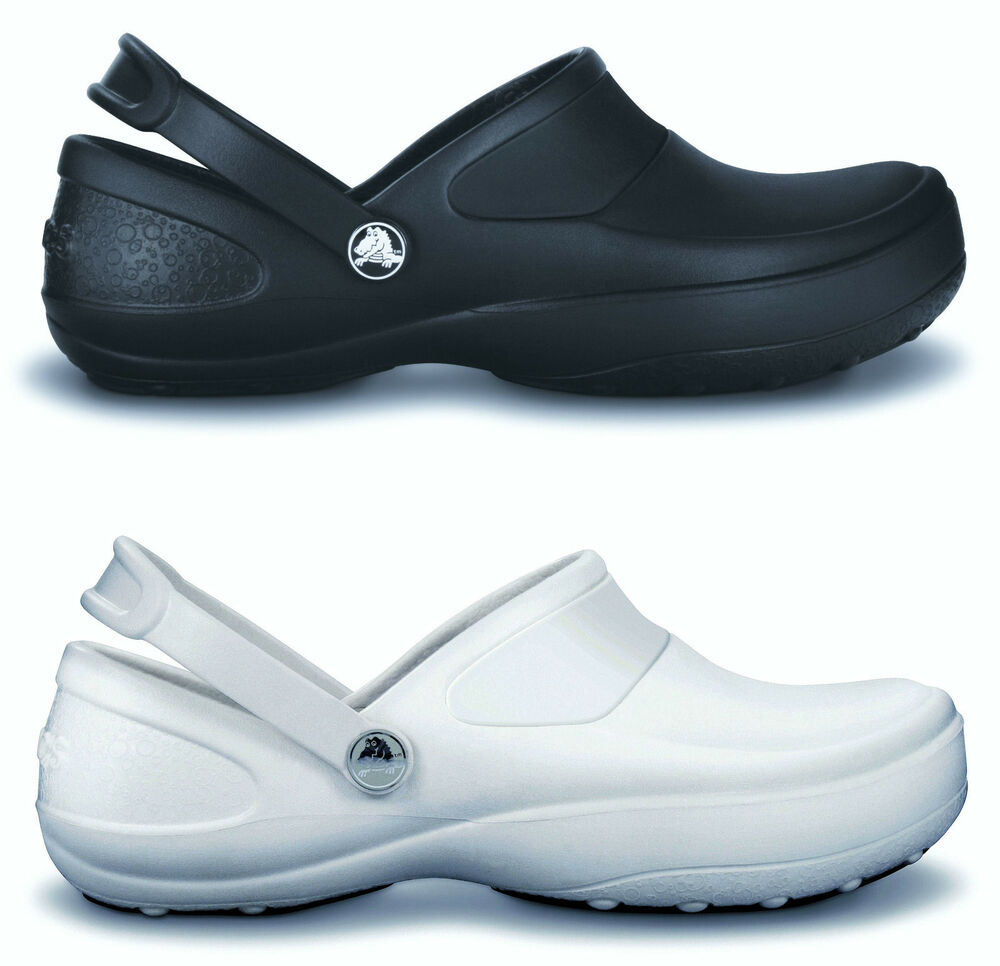Crocs Work Shoes Womens White