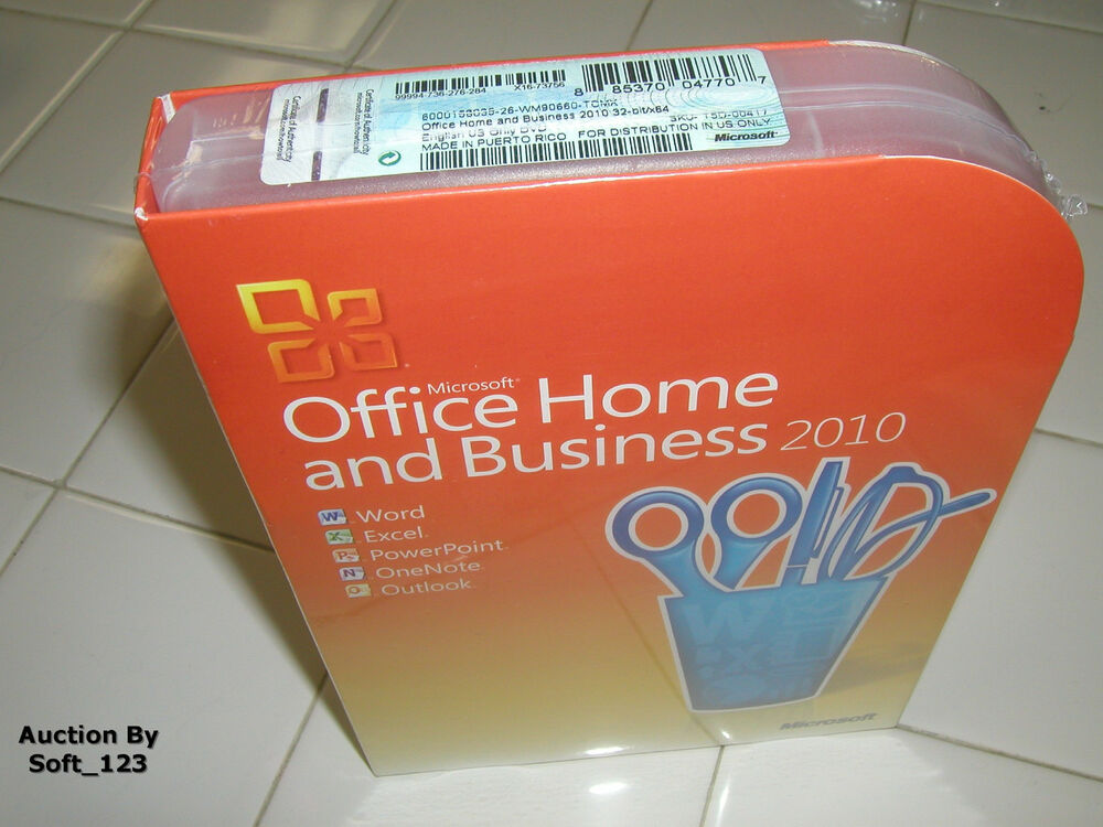 microsoft office 2010 home and business licensed for 2 pcs. Black Bedroom Furniture Sets. Home Design Ideas