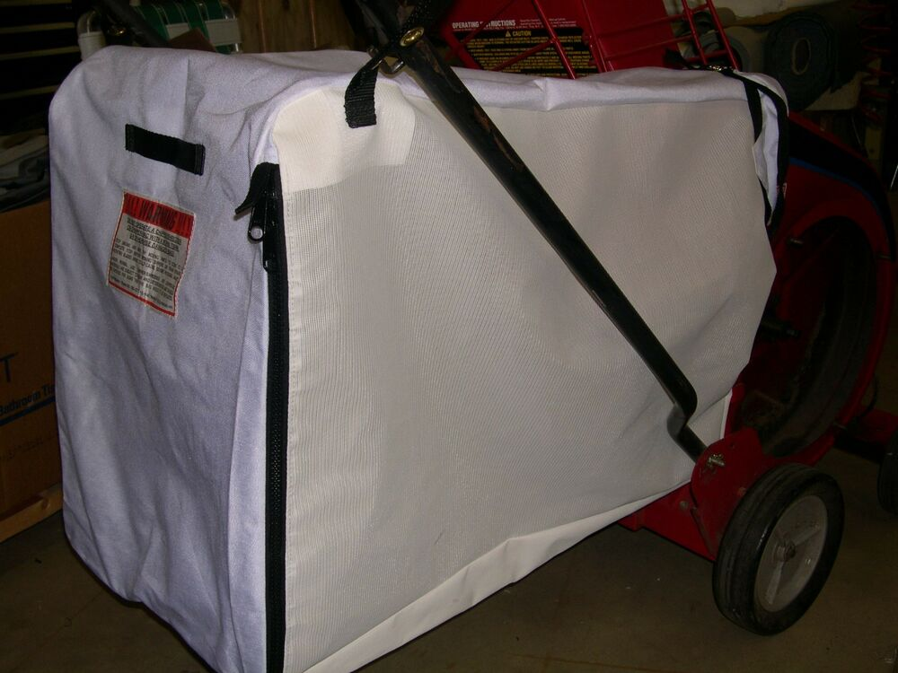 Troy Bilt Chipper Vac Bag Custom Made For 4 Amp 5 Amp 8 Hp