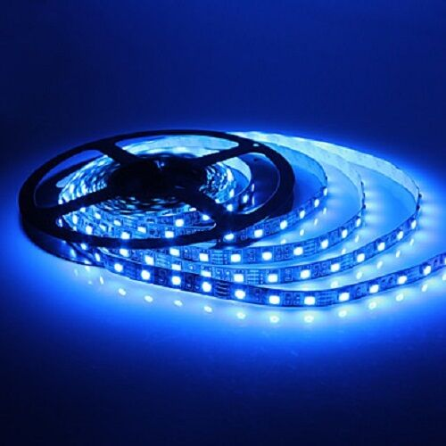 Striscia a luce led blu smd 5050 strip 5 metri 300 led for Luce led striscia