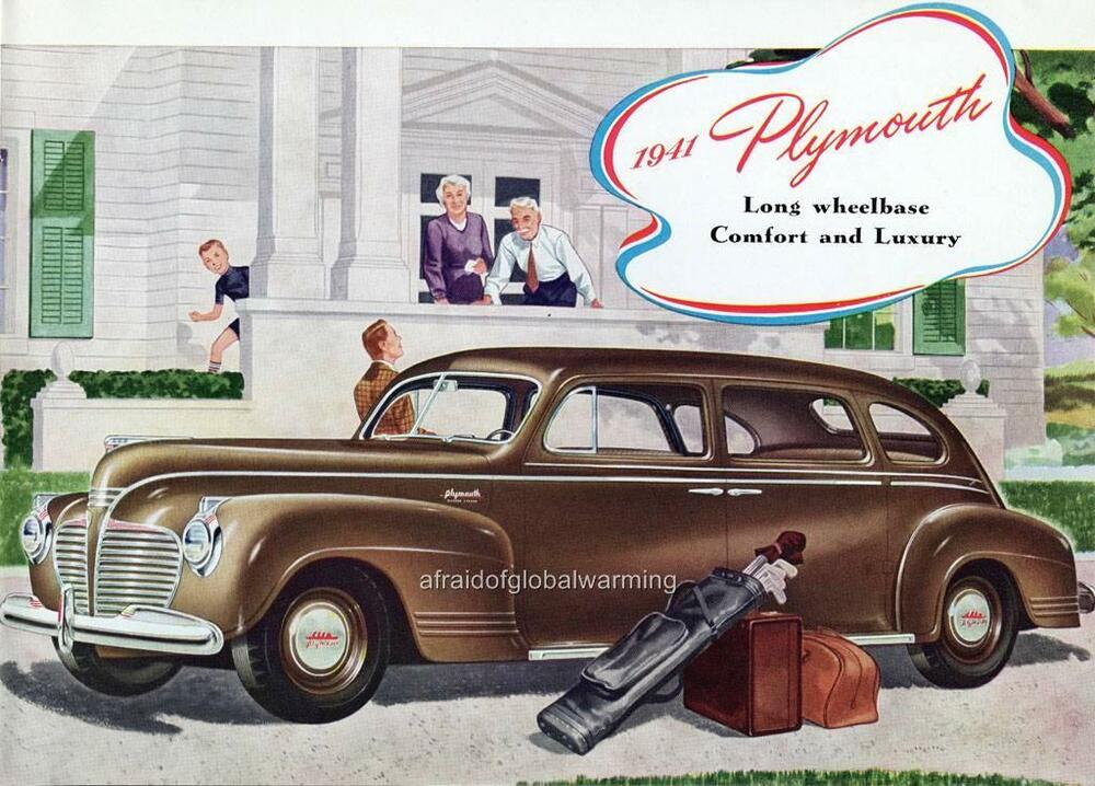 Old print brown 1941 plymouth special deluxe auto ad ebay for 1941 plymouth deluxe 4 door