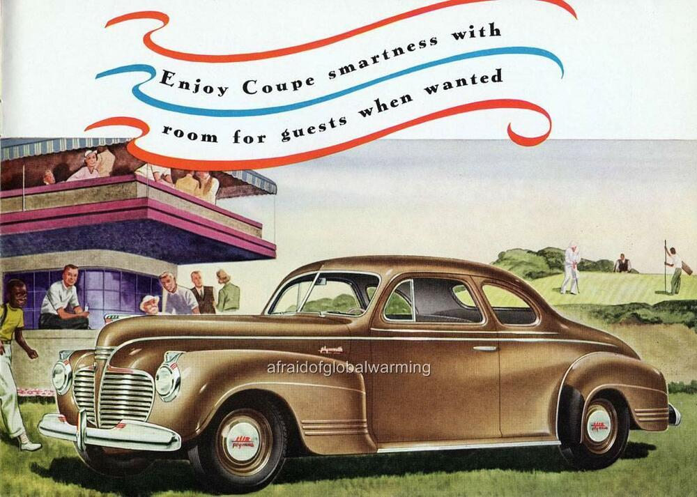 Old print brown 1941 plymouth special deluxe 4 person for 1941 plymouth deluxe 4 door