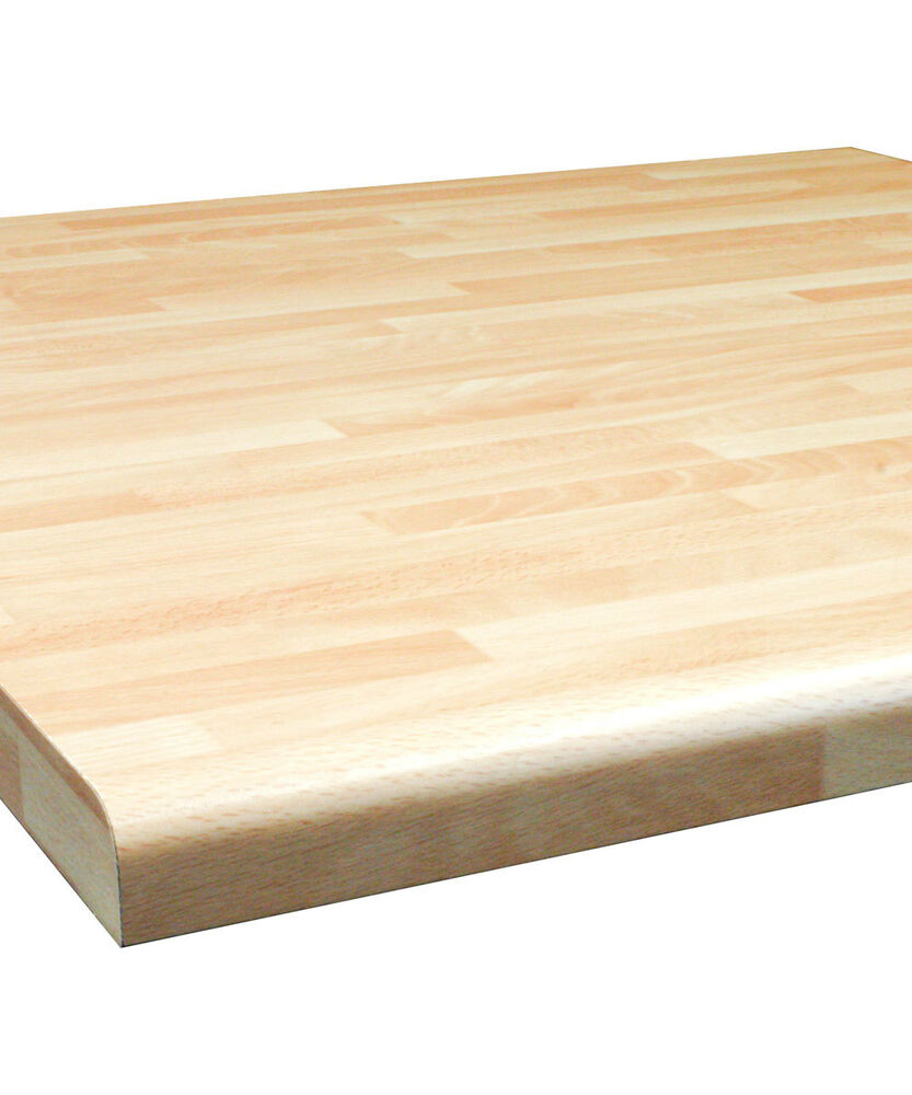 Beech butcher block mm laminate kitchen worktop by oasis