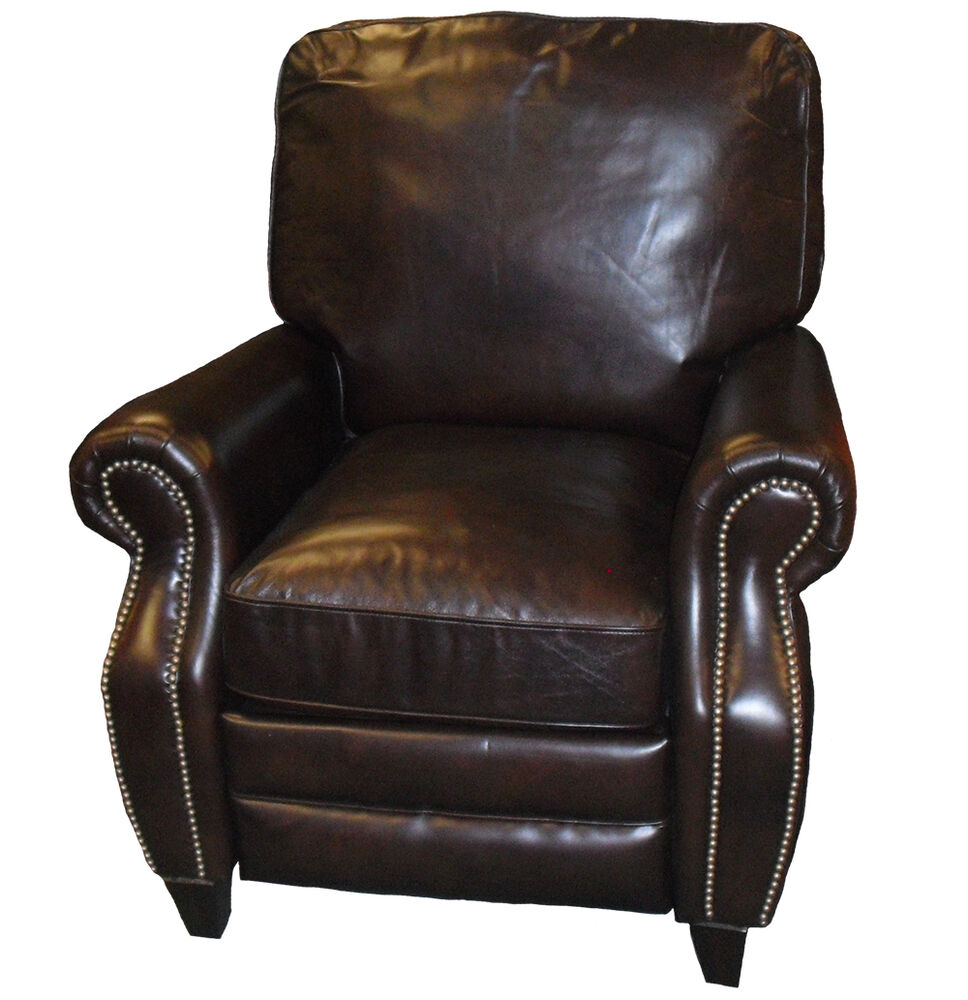 Brown Recliner Leather Chair 28 Images Bonded