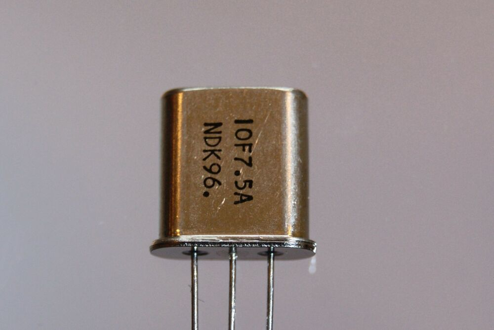 4pcs 10 7 Mhz 7 5khz Bandwidth Crystal Filter Mcf 10f7 5a
