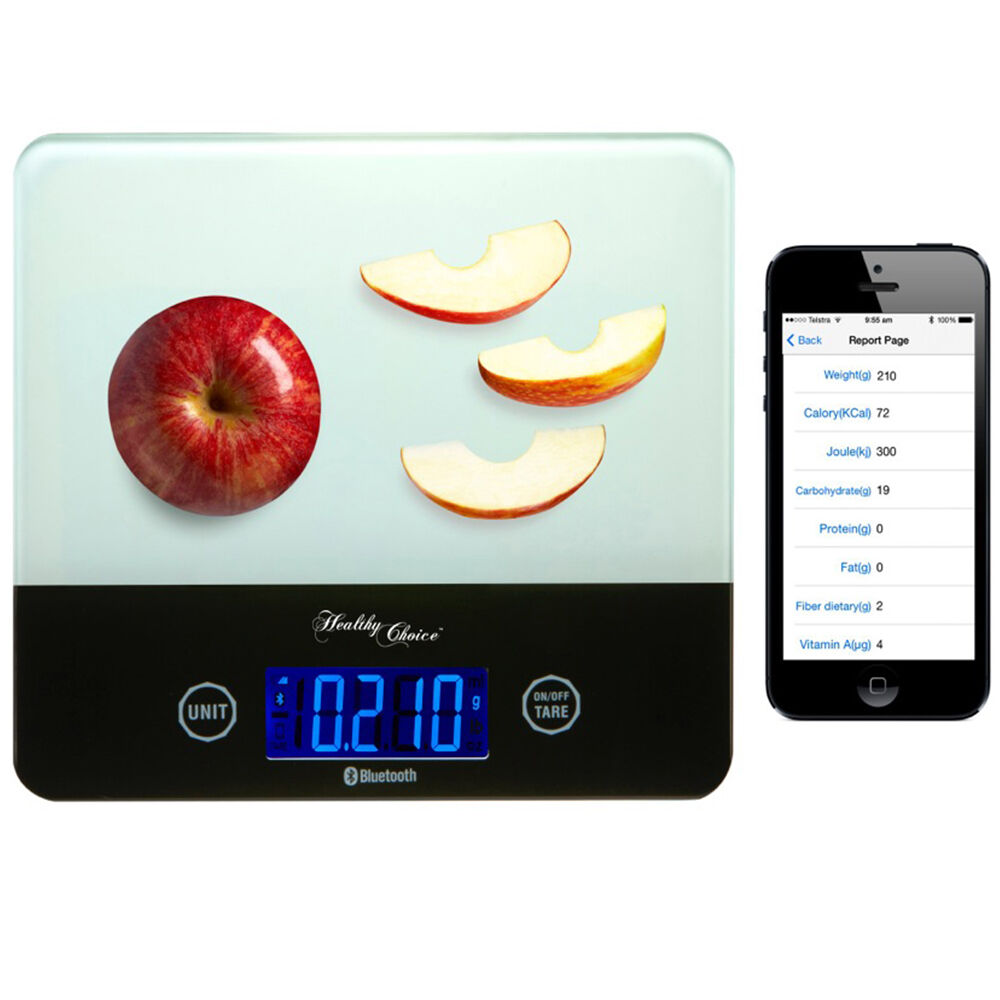App health food bluetooth digital scale kitchen for apple for Kitchen scale with app