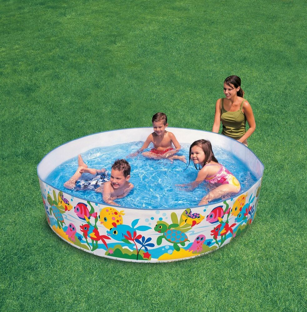 intex snapset pool 4ft 5ft 6ft swimming pool paddling