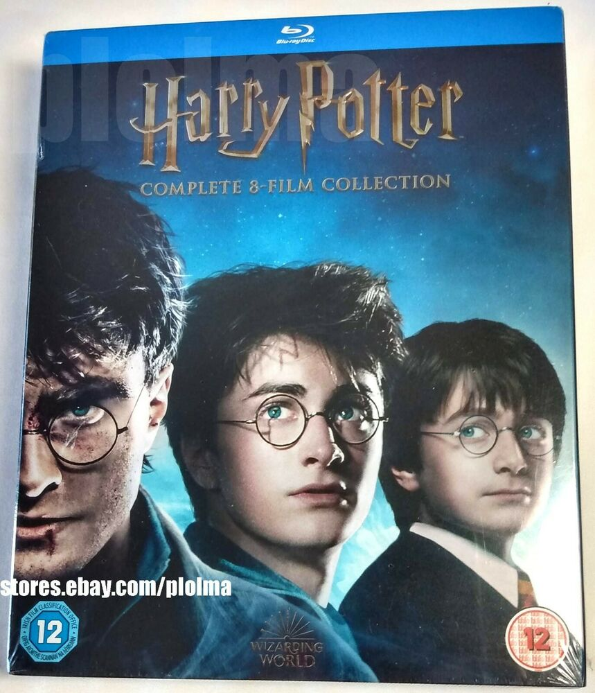 Harry potter the complete 8 film 16 disc collection brand for Sejour complet harry potter