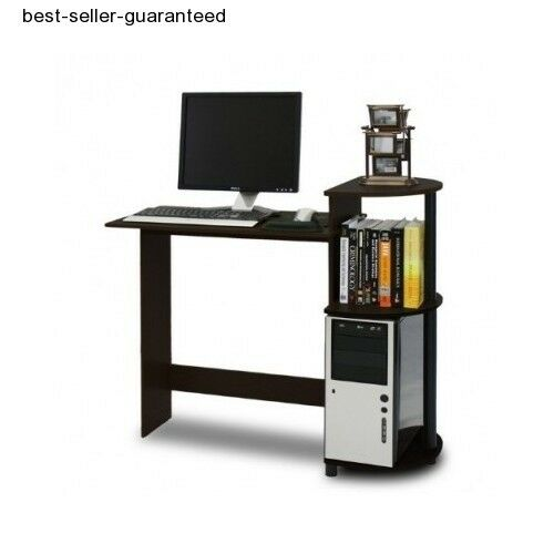 Compact Computer Desk Small Student Dorm Laptop PC Table Home Office