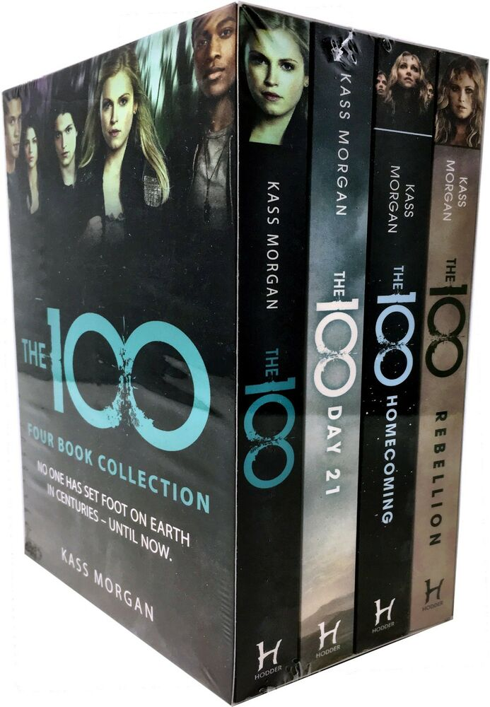 Kass Morgan The 100 Series Collection 3 Books Set The